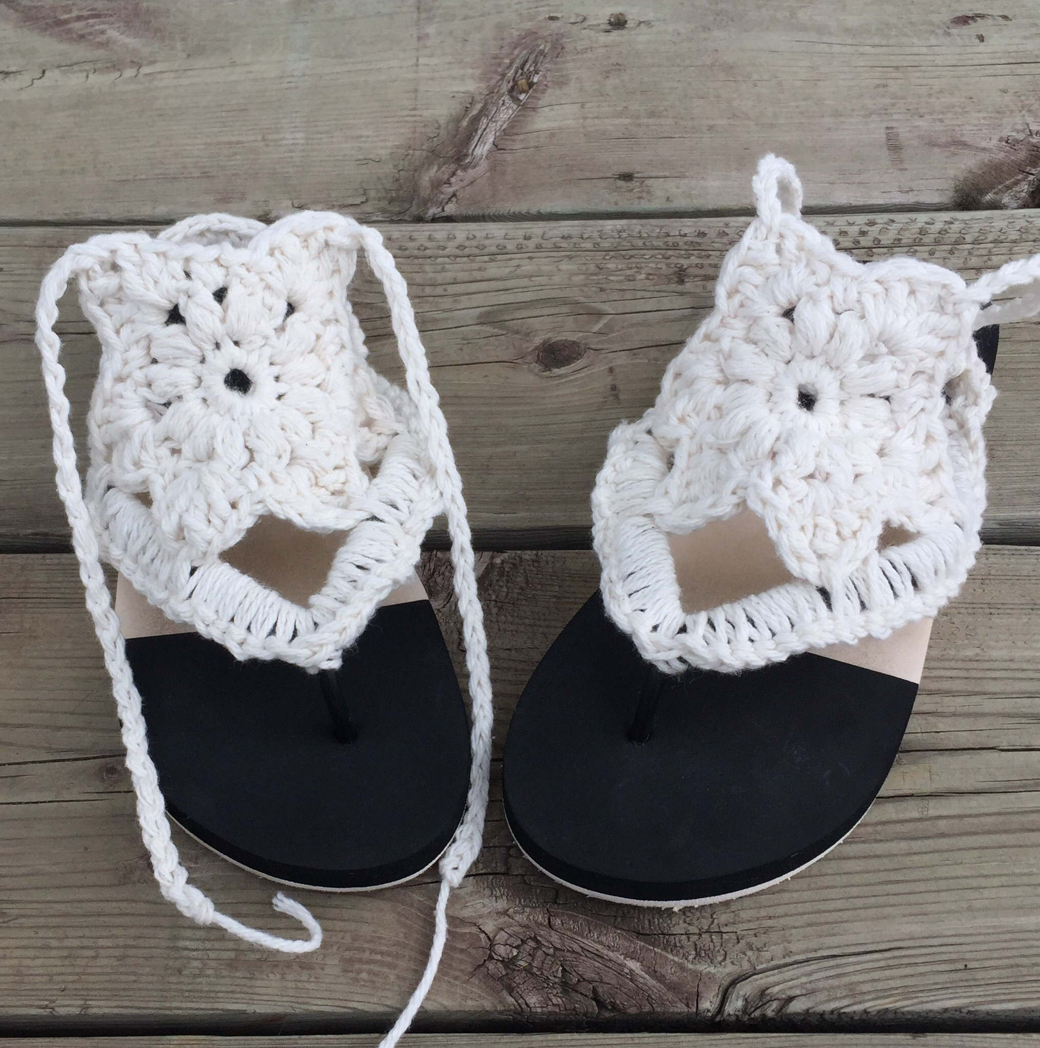 Natalie Summer Sandals Crochet Pattern Endless Crochet Creations