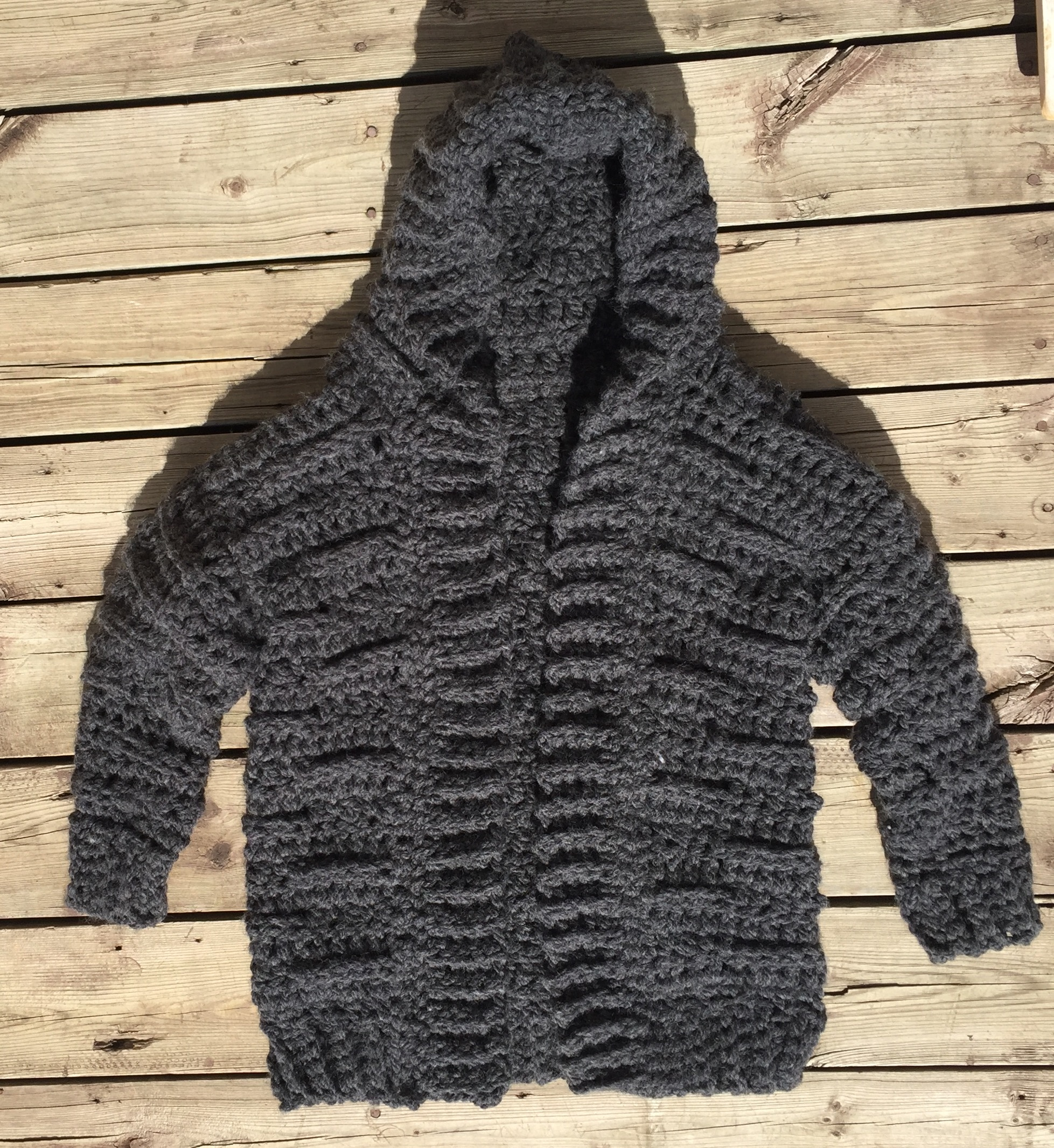 Riley Bulky Cardiganvest Pattern Endless Crochet Creations